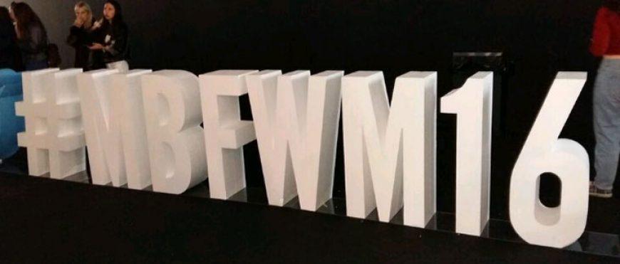 63 Edición MBFWM 2016