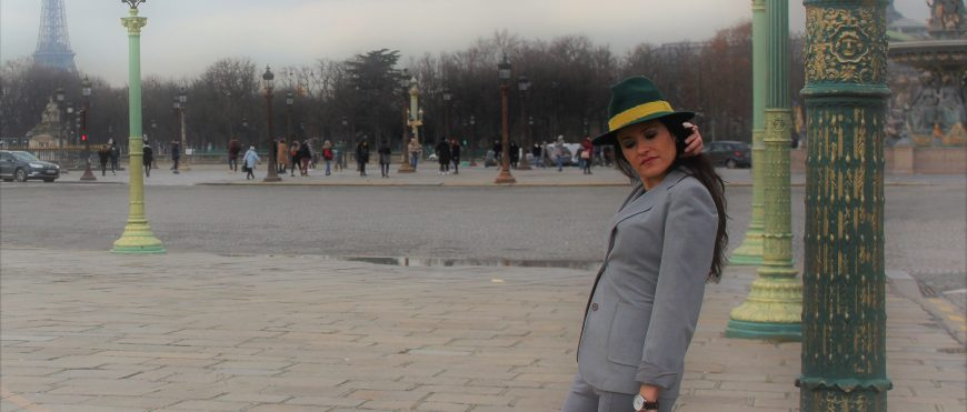 Plaza de la Concorde en Paris